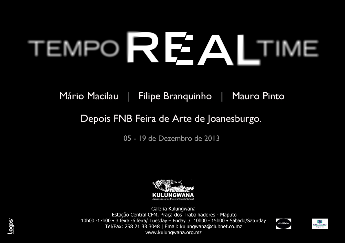 Cartaz - Tempo Real Time